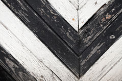 Textura da parede de madeira pintada Foto de Stock Royalty Free