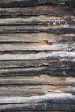 Textura da parede de madeira velha imagens de stock royalty free
