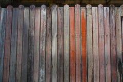 Textura da parede de madeira velha Fotografia de Stock