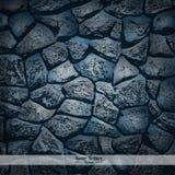Textura da parede de pedra ilustração do vetor