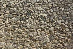 Textura da parede de pedra antiga. Imagem de Stock