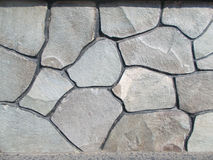 Textura da parede de pedra cinzenta 4 Fotografia de Stock Royalty Free