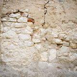 Textura da parede de pedra velha imagem de stock