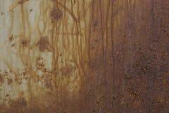 Textura da parede de superfície oxidada velha Fotografia de Stock Royalty Free