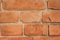 Textura da parede de tijolo de Brown Imagem de Stock Royalty Free
