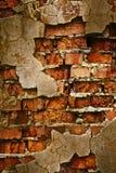 Textura da parede de tijolo de Grunge Imagem de Stock