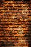 Textura da parede de tijolo de Grunge Fotografia de Stock
