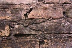 Textura da parede de tijolo de Grunge fotos de stock