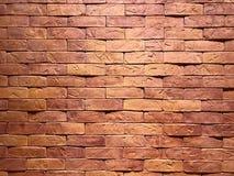 Textura da parede de tijolo do teste padrão Fotografia de Stock Royalty Free