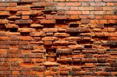 Textura da parede de tijolo do vintage Fotos de Stock Royalty Free