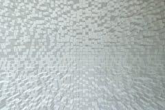 Textura da parede de tijolo, estilo do bloco 3d Foto de Stock