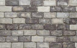 Textura da parede de tijolo no tom preto e branco Imagem de Stock Royalty Free