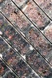 Textura da parede de tijolo para o fundo, papel de parede do telefone celular fotografia de stock royalty free