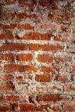 Textura da parede de tijolo velha Fotografia de Stock