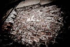Textura da parede de tijolo velha imagens de stock