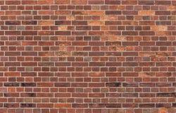 Textura da parede de tijolo vermelho fotografia de stock