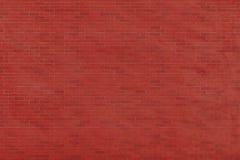 Textura da parede de tijolo vermelho do vintage A parede de tijolo vermelho velha Imagens de Stock Royalty Free