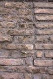 Textura da parede de tijolos vermelhos imagem de stock