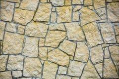Textura da parede do arenito Fotos de Stock