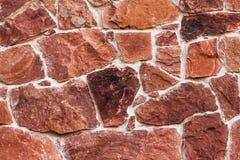 Textura da parede do arenito vermelho imagem de stock