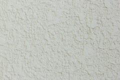 Textura da parede do cimento branco Fotografia de Stock