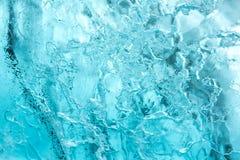 Textura da parede do gelo Fotos de Stock Royalty Free