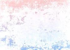 Textura da parede do inclinação Rose Quartz e da serenidade Textura do muro de cimento ilustração royalty free