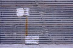 Textura da parede do metal Foto de Stock Royalty Free
