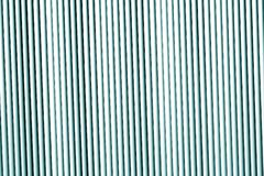 Textura da parede do metal no tom ciano fotos de stock