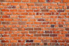 Textura da parede do tijolo vermelho velho Fotografia de Stock Royalty Free