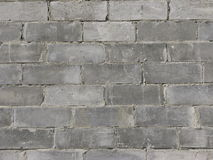 Textura da parede dos blocos de cimento Fotos de Stock Royalty Free