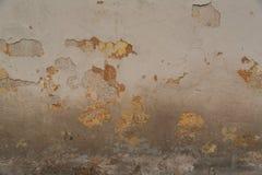 Textura da parede pintada oxidada velha Foto de Stock Royalty Free