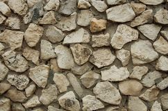 A textura da parede da rocha foto de stock