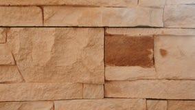 Textura da parede da terracota do tijolo closeup video estoque