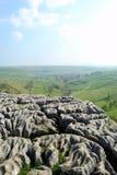 Textura da pedra calcária na parte superior da angra de Malham (Reino Unido) Imagem de Stock Royalty Free