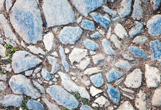 Textura da pedra de pavimentação Imagens de Stock