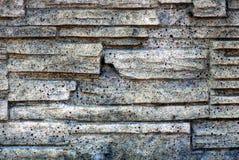 A textura da pedra em uma cerca fotos de stock royalty free