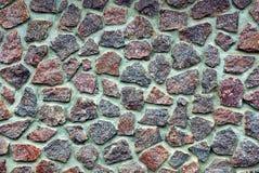 A textura da pedra em uma cerca Foto de Stock