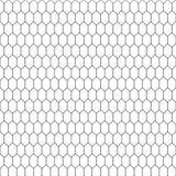 Textura da pele de serpente Fundo preto e branco do teste padrão sem emenda Vetor Fotos de Stock Royalty Free