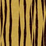 Textura da pele do tigre sem emenda Foto de Stock Royalty Free