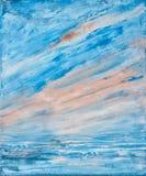 Textura da pintura da arte Imagens de Stock Royalty Free