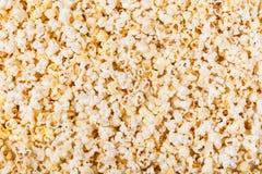 Textura da pipoca fotografia de stock