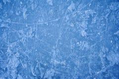 Textura da pista de patinagem do gelo ao ar livre Imagem de Stock Royalty Free