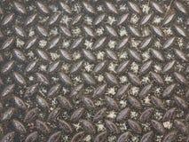 Textura da placa de aço Foto de Stock Royalty Free