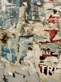 Textura da placa do poster Fotografia de Stock Royalty Free