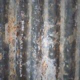 Textura da placa do zinco Imagem de Stock