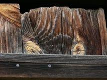 A textura da placa idosa com olhos Imagem de Stock Royalty Free