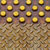 Textura da plataforma da estrada de ferro Fotos de Stock