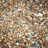 Textura da praia de Brigghton fotos de stock royalty free