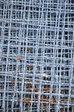Textura da rede de fio de aço Imagem de Stock Royalty Free
